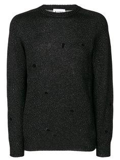 пуловер с отделкой металлик  Dondup