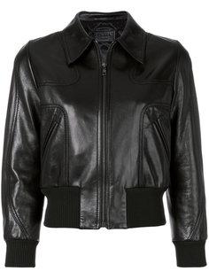 куртка с эластичным краем  Prada