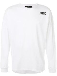 джемпер с логотипом бренда Geo