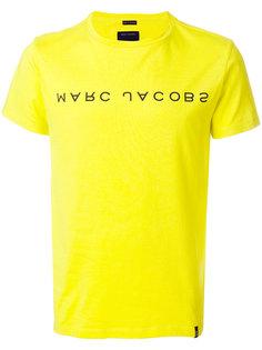 футболка с логотипом бренда Marc Jacobs