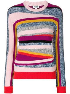 свитер Broken Stripes Kenzo