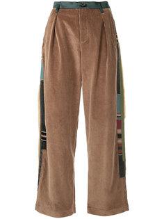 брюки с контрастными полосками  Kolor