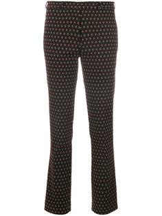брюки с вышивкой  Etro