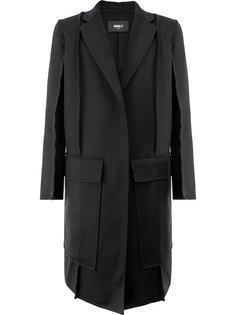 пальто с необработанными краями Yang Li