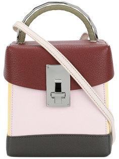 сумка на плечо дизайна колор-блок The Volon