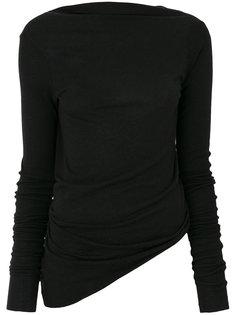 приталенный свитер  Rick Owens Lilies