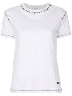 футболка с заклепками Miu Miu