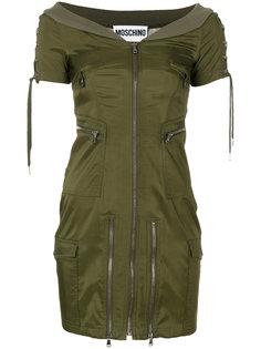 приталенное платье  Moschino