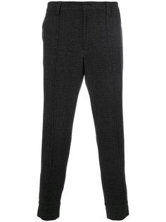 зауженные брюки Paolo Pecora