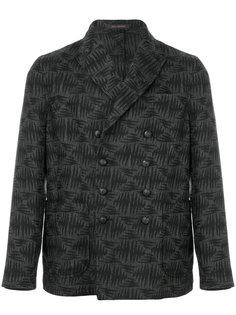 двубортный пиджак с вышивкой Ziggy The Gigi