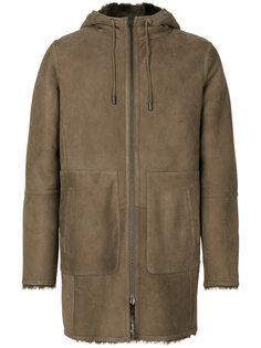 пальто из овчины на молнии Desa Collection