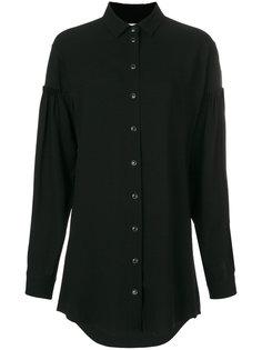 короткое платье-рубашка  Saint Laurent