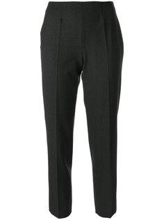 однотонные брюки строгого кроя Piazza Sempione