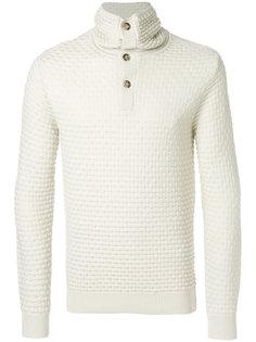 свитер с высокой горловиной Paolo Pecora