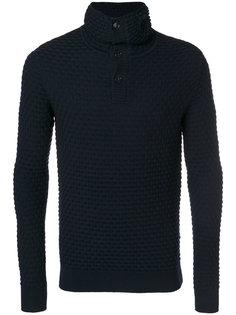 свитер с отворотной горловиной Paolo Pecora
