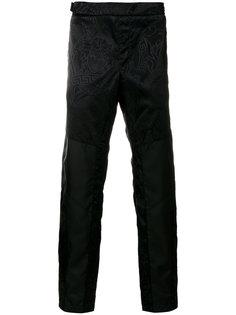 брюки с принтом Medusa Versace