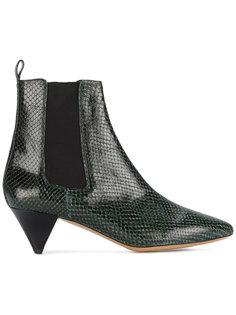 ботинки из змеиной кожи Dawell Isabel Marant