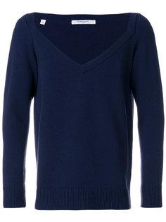 свитер с контрастной вставкой Givenchy