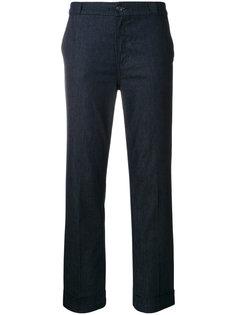 джинсы с манжетами Tory Burch
