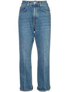 укороченные расклешенные джинсы PSWL Proenza Schouler
