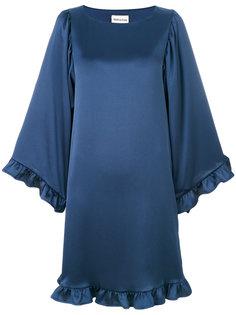 платье с оборками  Semicouture