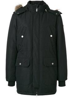 классическое стеганое пальто Versace Jeans