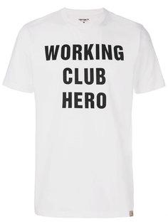футболка Working Club Carhartt