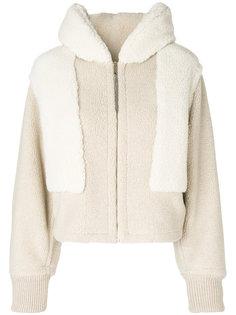 флисовая куртка с капюшоном  Stella McCartney