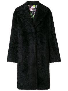 строгое приталенное пальто  Emilio Pucci