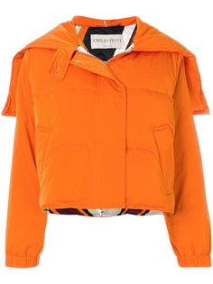 укороченная дутая куртка  Emilio Pucci