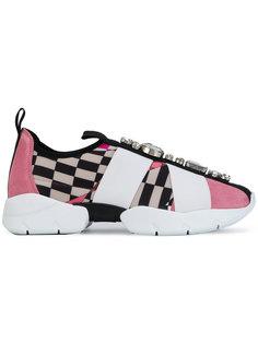 декорированные кроссовки с принтом Emilio Pucci