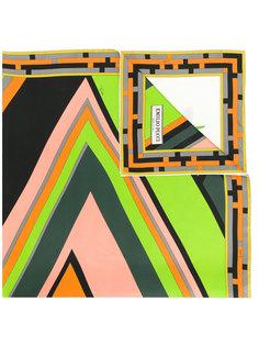 платок с абстрактным цветочным принтом Emilio Pucci