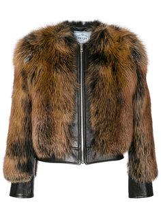 укороченная куртка  Prada