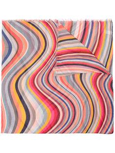 шарф с принтом Paul Smith