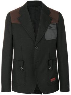 пиджак с накладными панелями Prada