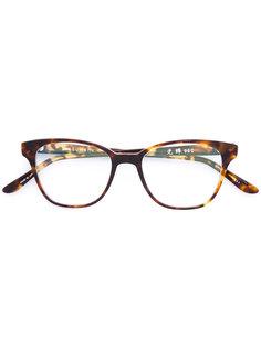 очки в квадратной оправе Masunaga