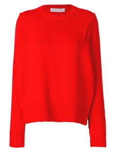 свитер прямого кроя Victoria Beckham