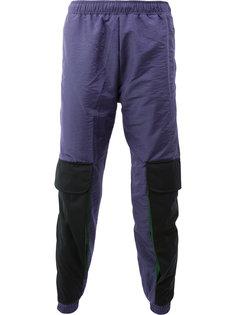 спортивные брюки дизайна колор-блок Cottweiler