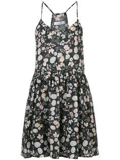 летнее платье с цветочным притом Anine Bing