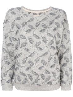 свитер с вышитыми листьями Bellerose