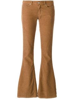 вельветовые расклешенные брюки Dondup