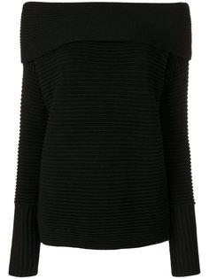 свитер с открытыми плечами Victoria Beckham