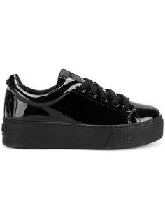кроссовки на платформе Kenzo