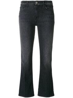 укороченные джинсы клеш J Brand