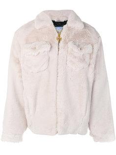 фактурная куртка на молнии Gcds