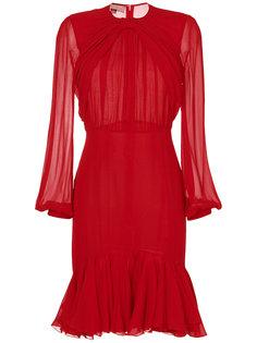 приталенное расклешенное платье Giambattista Valli