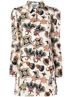 блузка с принтом  Valentino