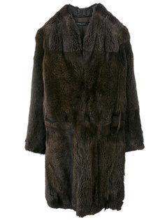 пальто с мехом  32 Paradis Sprung Frères