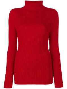 трикотажный свитер в рубчик  Victoria Beckham