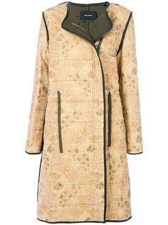 пальто со шнурком на талии Isabel Marant